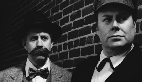 Holmes and Watson (John Johnson and Ronn Smith)