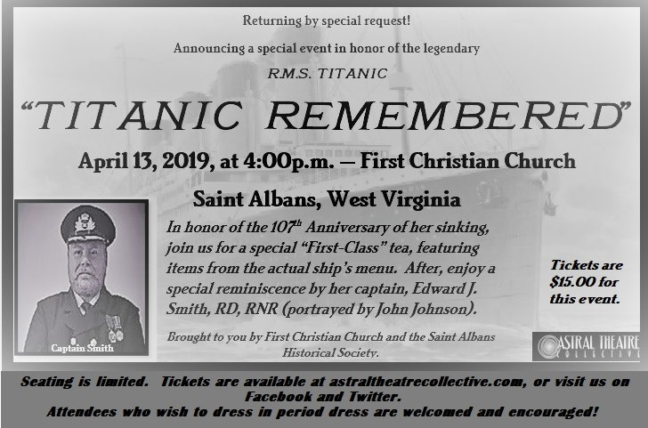 2019-02-06 Titanic Remembered