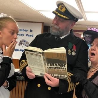 Titanic Trio and book